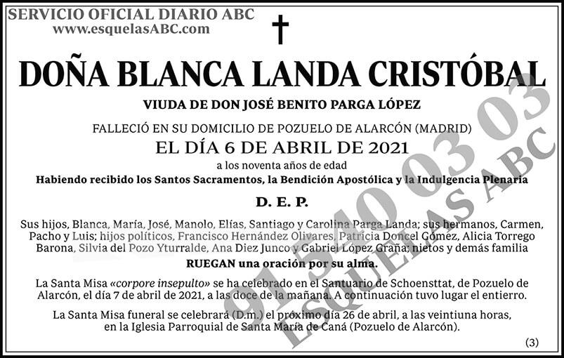 Blanca Landa Cristóbal