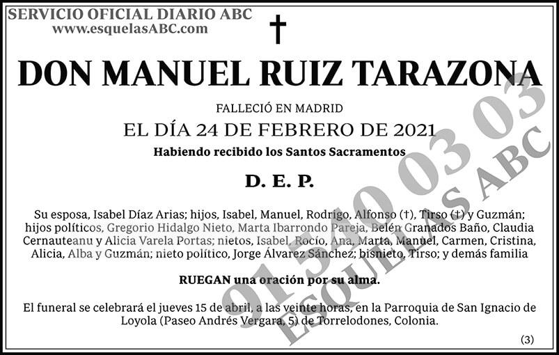 Manuel Ruiz Tarazona