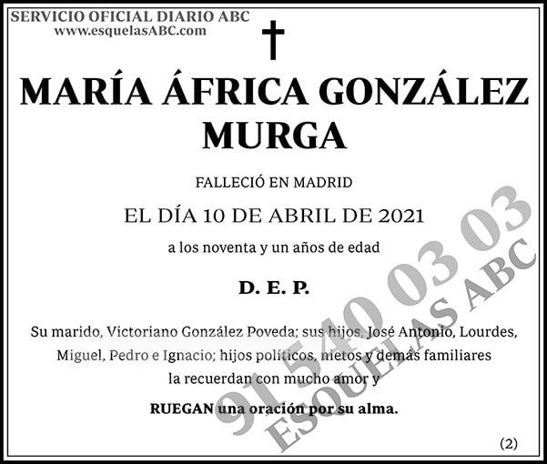 María África González Murga