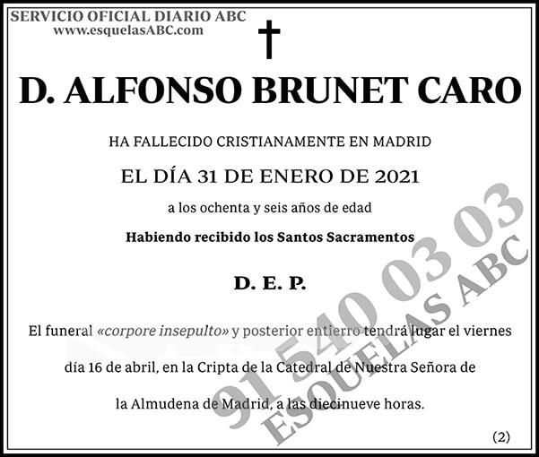 Alfonso Brunet Caro
