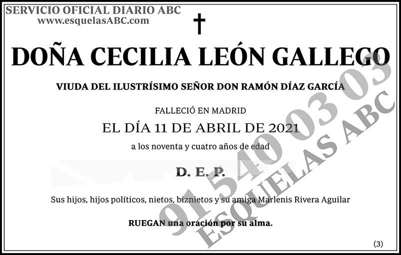 Cecilia León Gallego