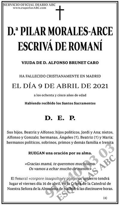 Pilar Morales-Arce Escrivá de Romaní