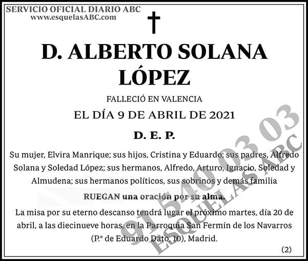 Alberto Solana López
