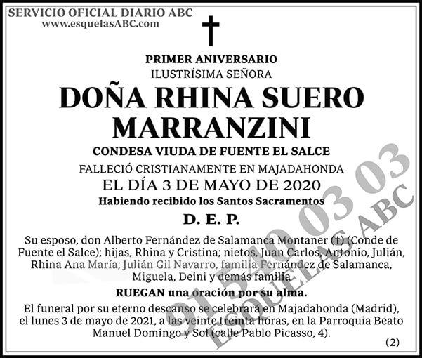 Rhina Suero Marranzini