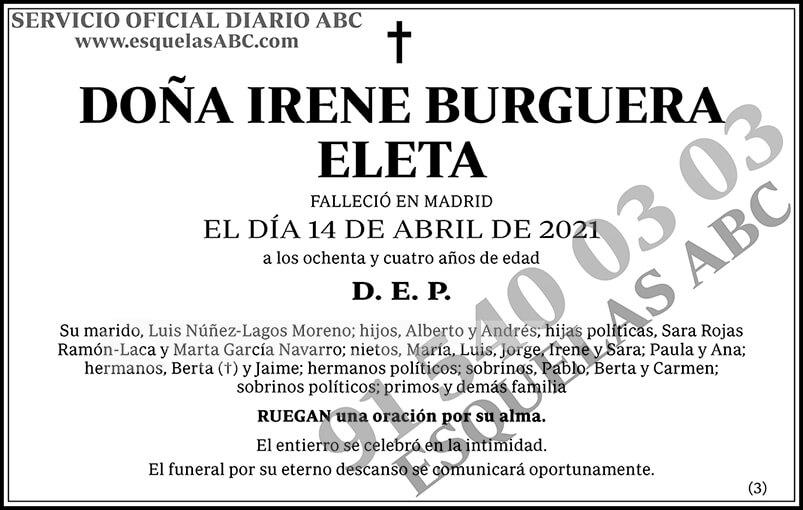 Irene Burguera Eleta