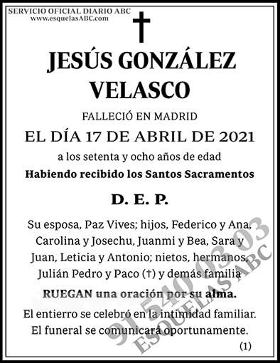 Jesús González Velasco