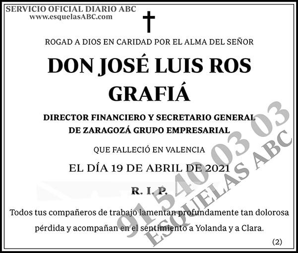 José Luis Ros Grafiá