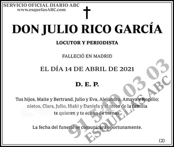 Julio Rico García