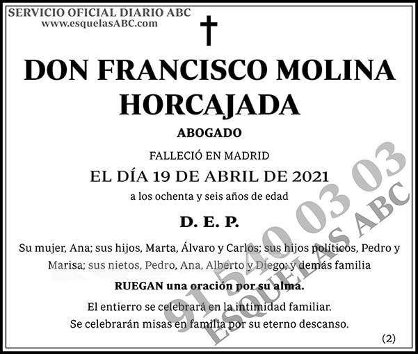 Francisco Molina Horcajada