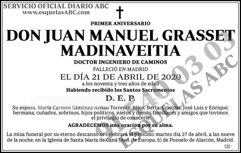 Juan Manuel Grasset Madinaveitia