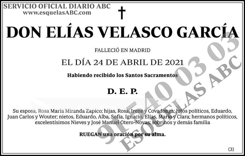 Elías Velasco García