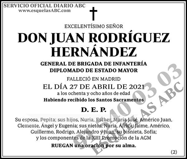 Juan Rodríguez Hernández