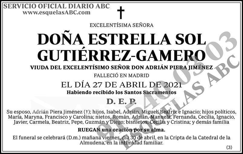 Estrella Sol Gutiérrez-Gamero