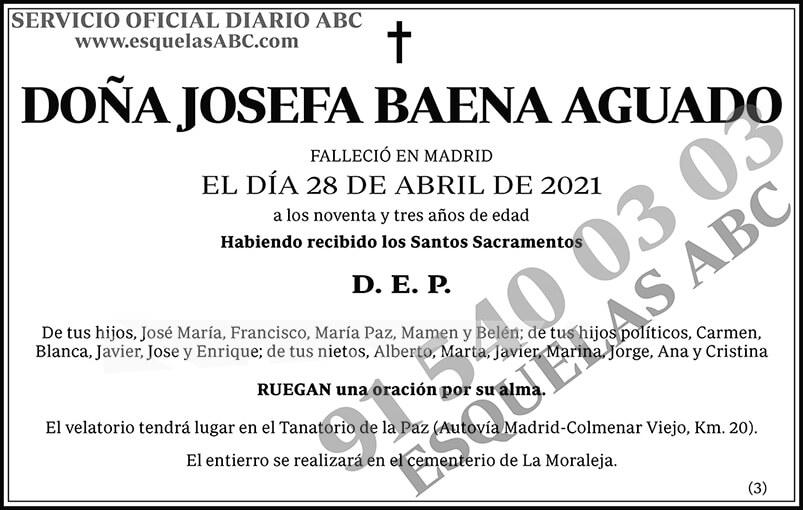 Josefa Baena Aguado