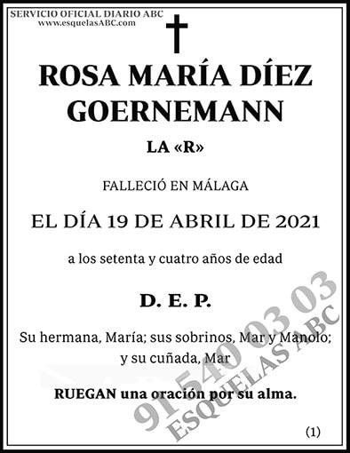 Rosa María Díez Goernemann
