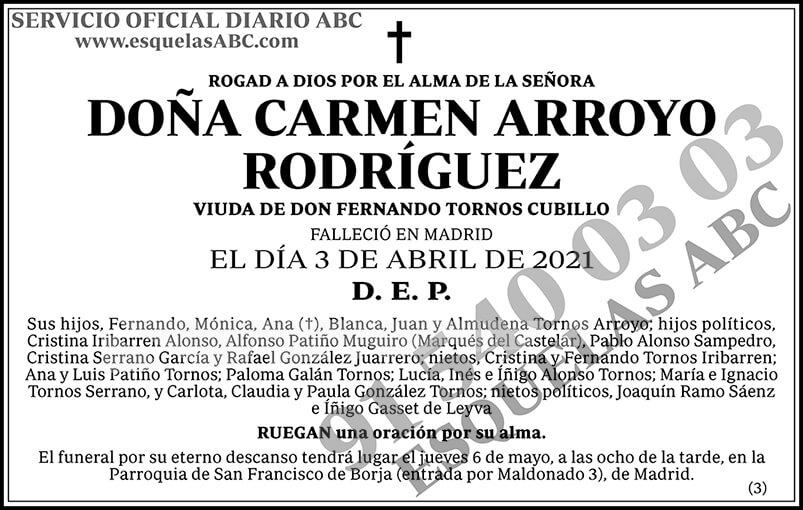 Carmen Arroyo Rodríguez