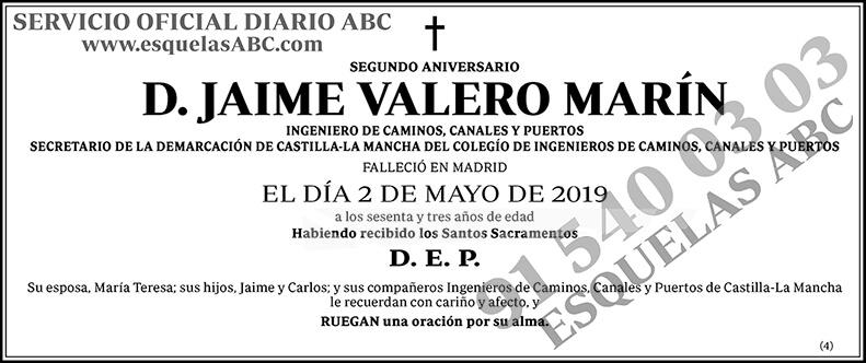 Jaime Valero Marín