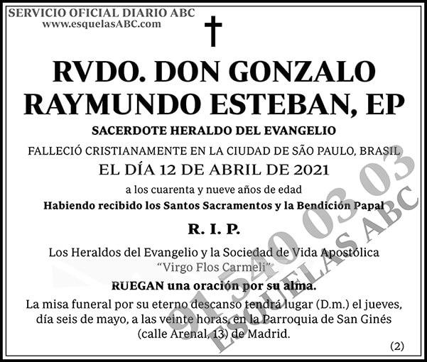 Gonzalo Raymundo Esteban
