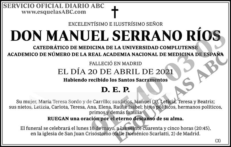 Manuel Serrano Ríos