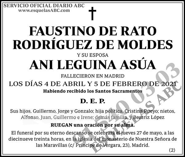 Faustino de Rato Rodríguez de Moldes