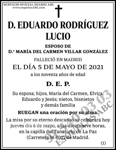 Eduardo Rodríguez Lucio
