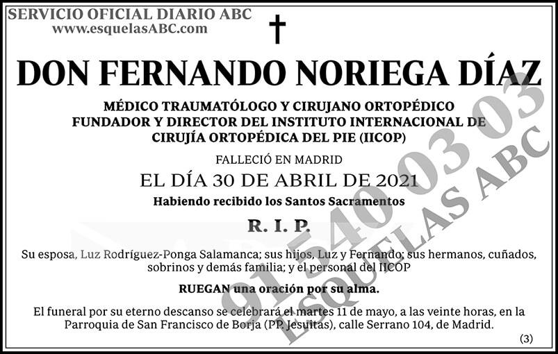 Fernando Noriega Díaz