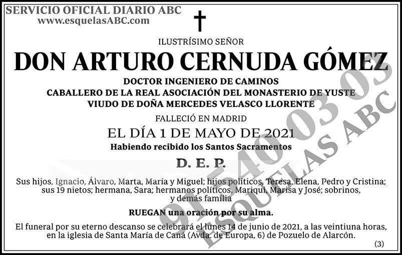 Arturo Cernuda Gómez