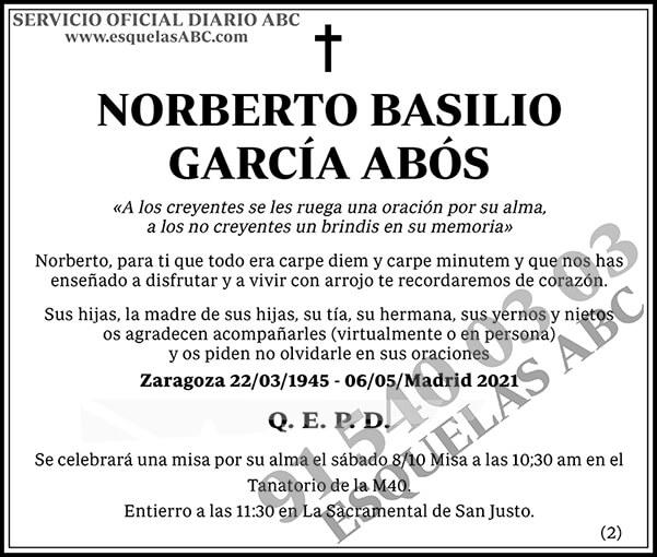 Norberto Basilio García Abós