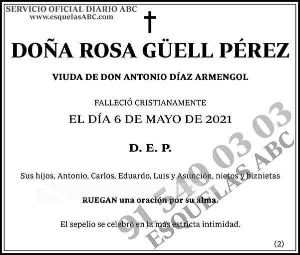 Rosa Güell Pérez