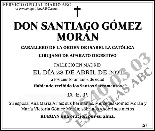 Santiago Gómez Morán