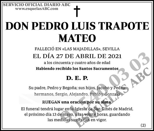 Pedro Luis Trapote Mateo