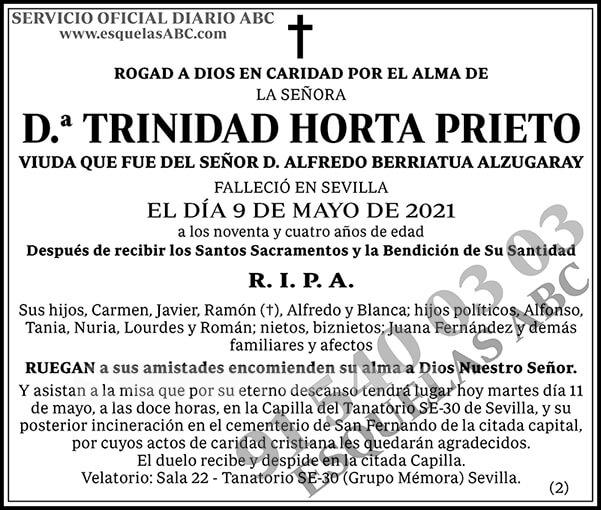 Trinidad Horta Prieto