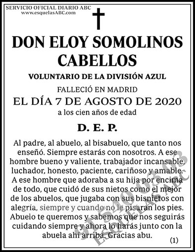 Eloy Somolinos Cabellos