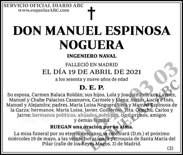 Manuel Espinosa Noguera