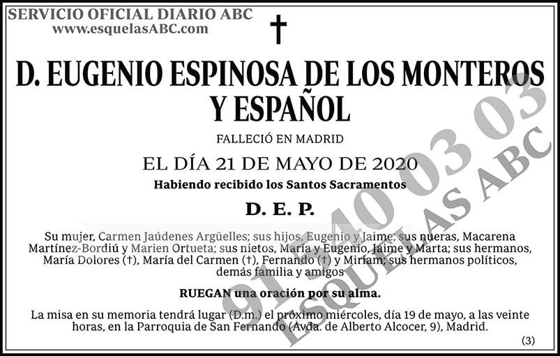 Eugenio Espinosa de los Monteros y Español