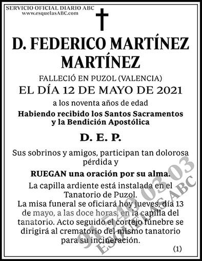 Federico Martínez Martínez