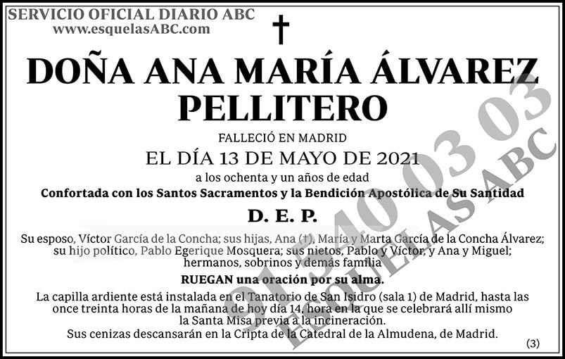 Ana María Álvarez Pellitero