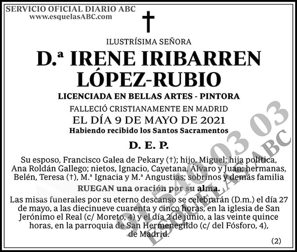 Irene Iribarren López-Rubio