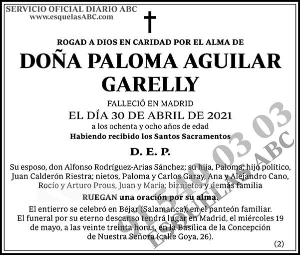 Paloma Aguilar Garelly