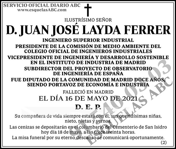 Juan José Layda Ferrer