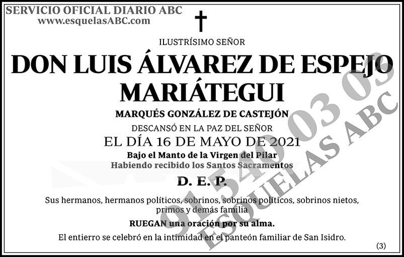 Luis Álvarez de Espejo Mariátegui