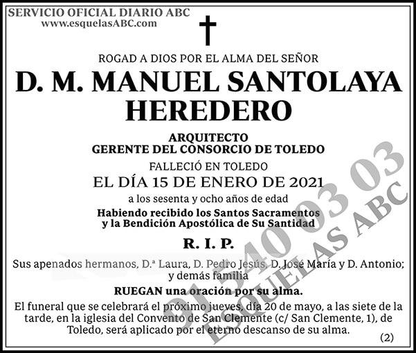 Manuel Santolaya Heredero