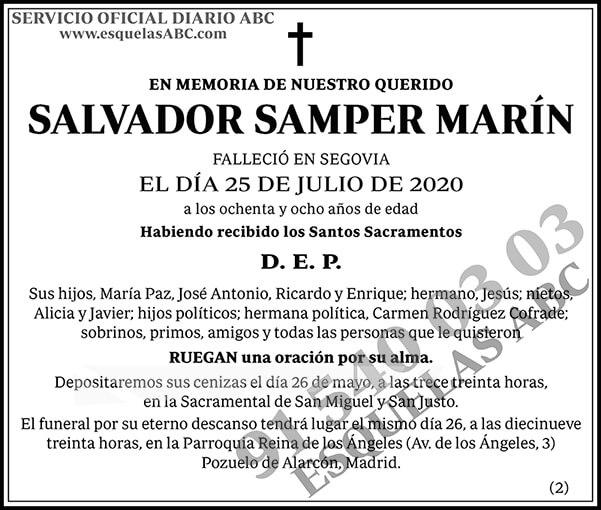 Salvador Samper Marín