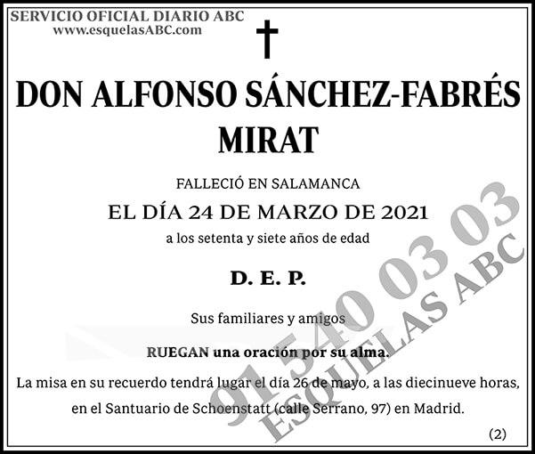 Alfonso Sánchez-Fabrés Mirat