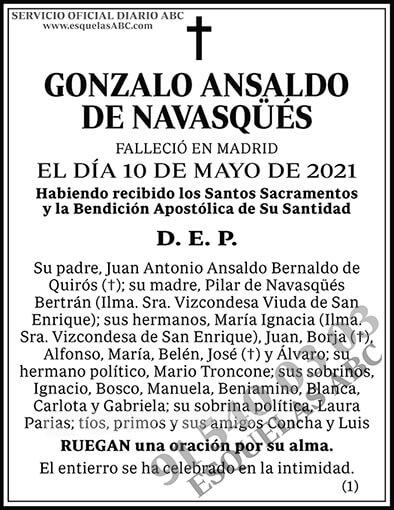 Gonzalo Ansaldo de Navasqüés