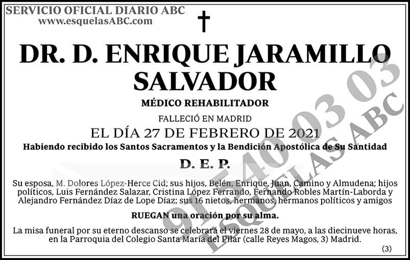Enrique Jaramillo Salvador