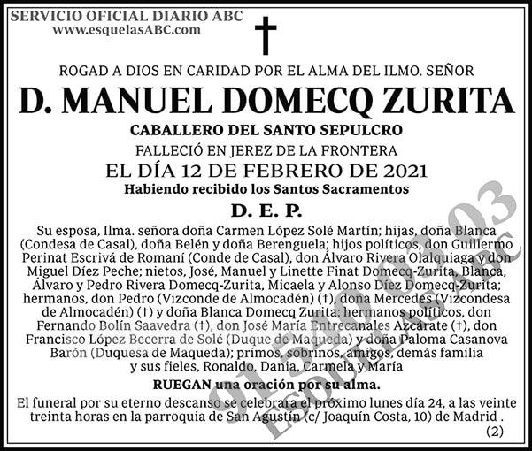 Manuel Domecq Zurita