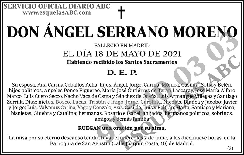 Ángel Serrano Moreno