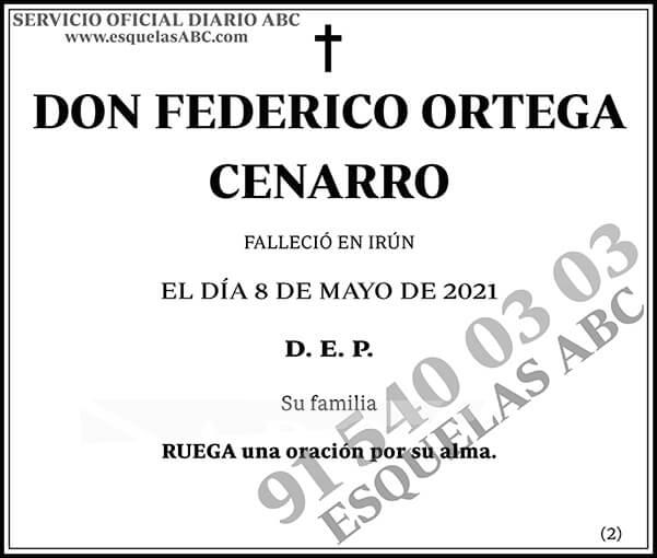 Federico Ortega Cenarro