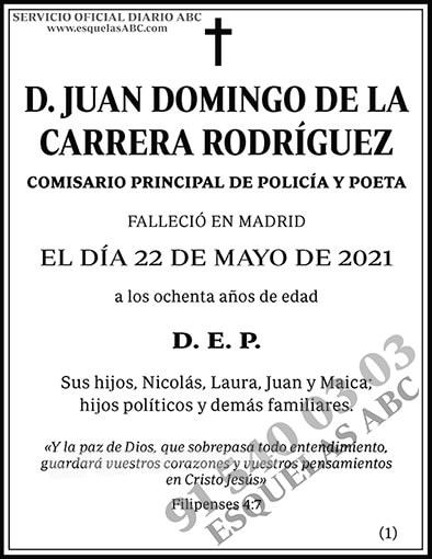 Juan Domingo de la Carrera Rodríguez